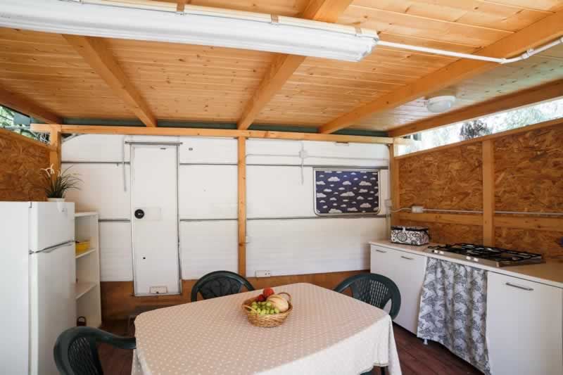 Caravans and bungalows and mobile homes for rent - Rocca Mare